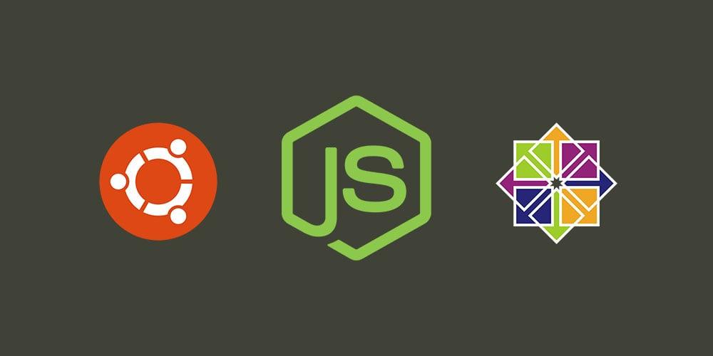 Как установить Node.js на Ubuntu и CentOS?