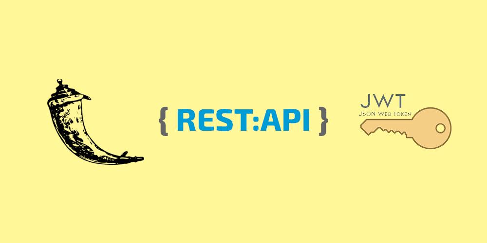 Как защитить REST API Flask приложение с помощью JSON Web Token?