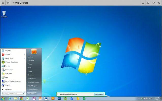 Виртуальный рабочий стол windows