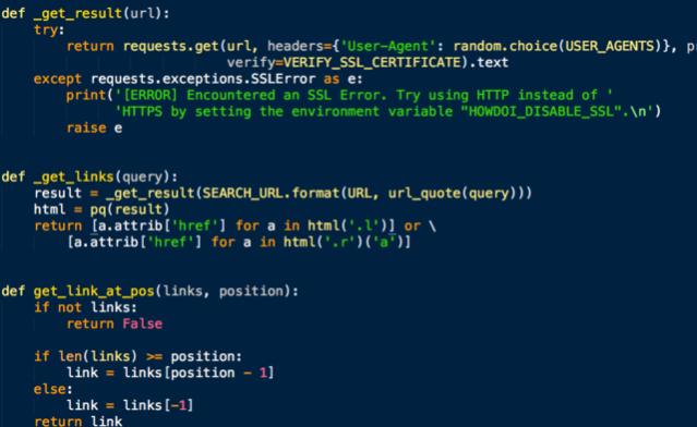 Синтаксис Python