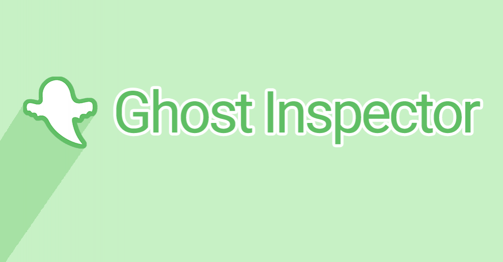 Ghost Inspector