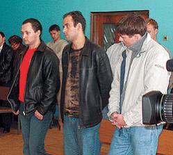 Денис Степанов, Александр Петров и Иван Максаков