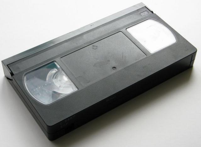 VHS кассеты