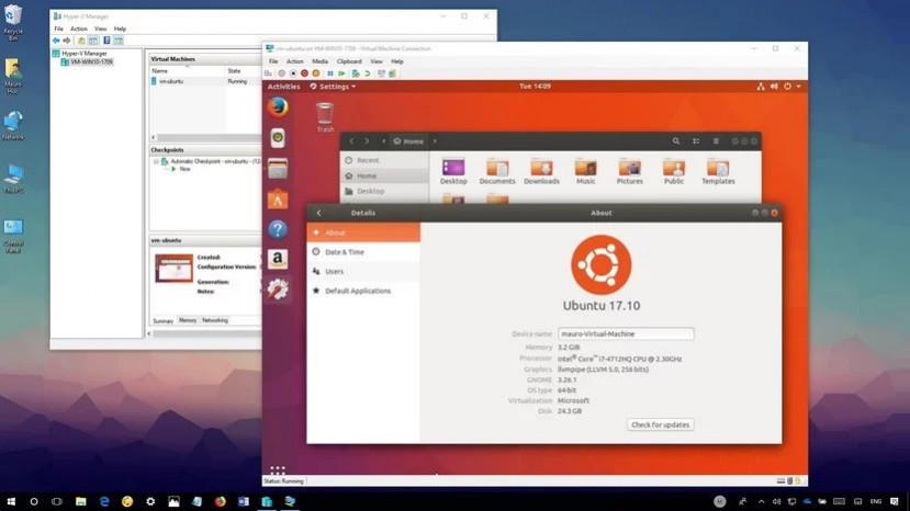 Linux виртуальная машина
