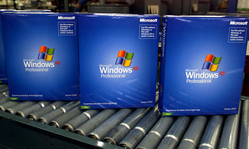 Дата выхода Windows XP