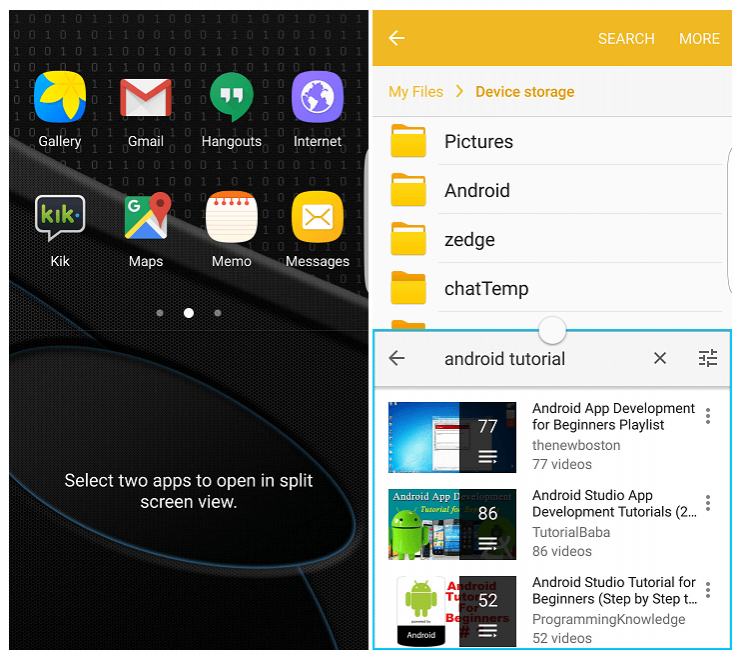 Android многозадачность