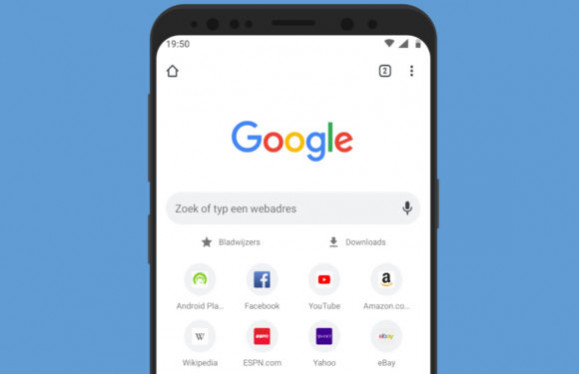 Google Chromeдля  Anroid