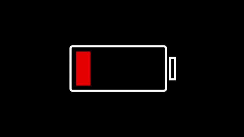 Низкий заряд батареи