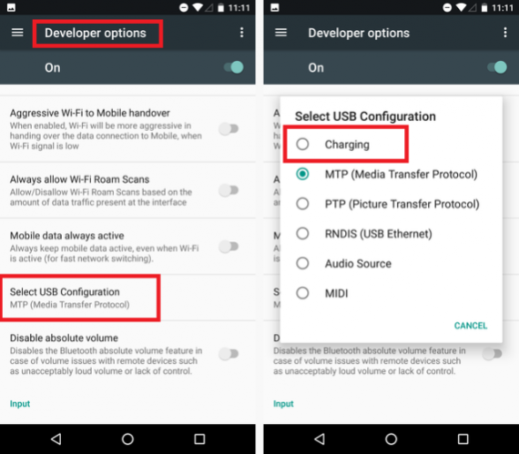 Android быстрая зарядка