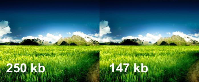 Уменьшайте размер изображений