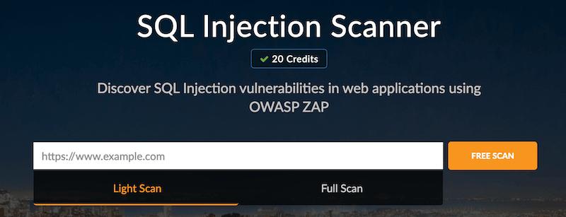 SQL Injection Scanner
