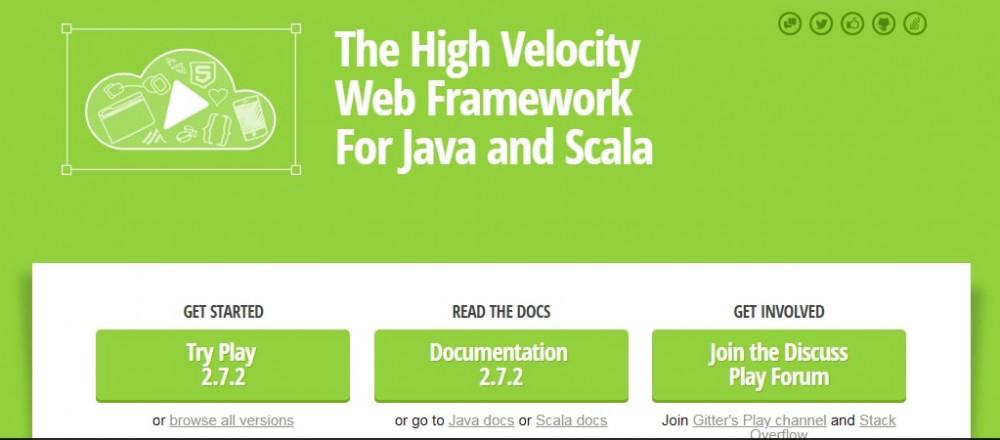 Java фреймворкPlay