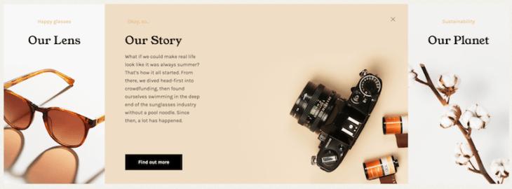 Расскажите историю своего сайта