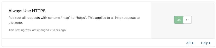 HTTP перенаправление в Cloudflare