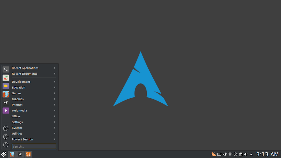 Arch Linux LXDE