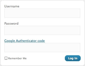WordpressGoogle Authenticator