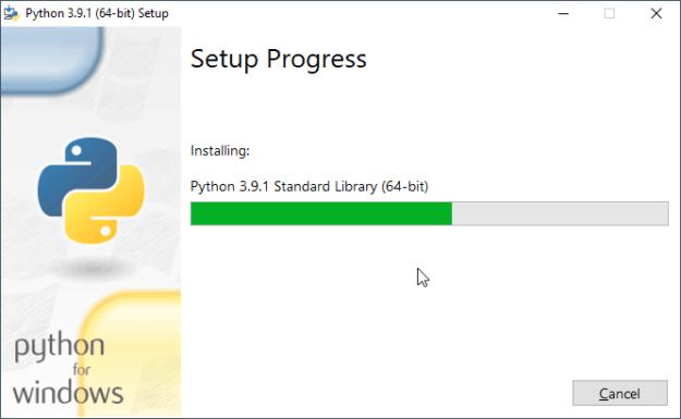 Установка Python 3 на Windows