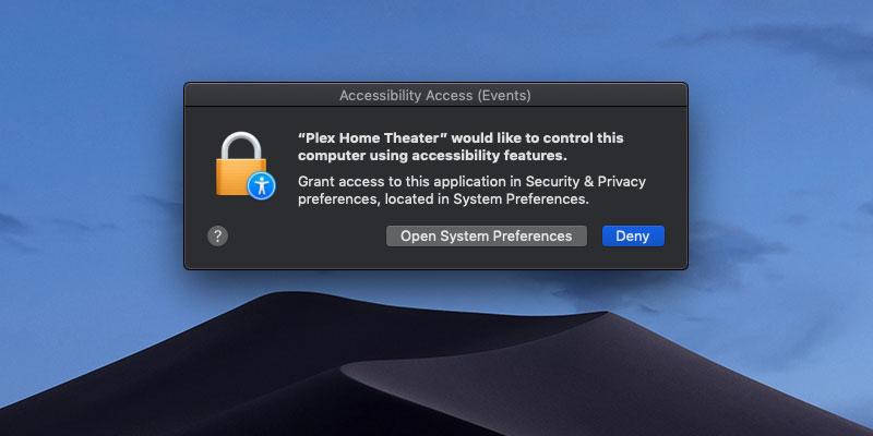 Ограничение доступа приложений